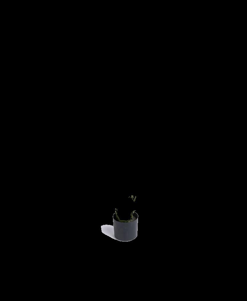 zwarte pot voor kunstplanten